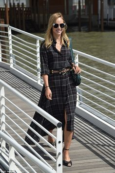 All geared up: Suki Waterhouse was no doubt gearing herself up for the…