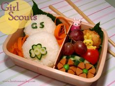 Girl Scouts Bento for 100th Anniversary!!