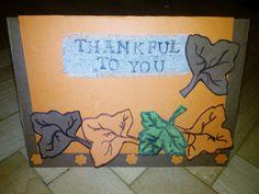 Thanksgiving card idea