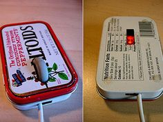 Altoids tin mouse.