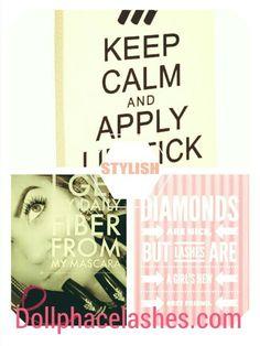 Rock those lashes ladies!  Dollphacelashes.com