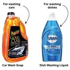 46 DIY Car Detailing Tips That Will Save You Money - puntoprecisoapp Car Cleaning Hacks, Car Hacks, Cleaning Supplies, Cleaning Products, Cleaning Items, Hacks Diy, Wash Car At Home, Car Soap, Diy Car Wash Soap