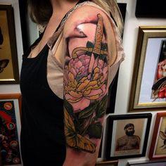 Tattoo by @maxrathbone_tattooer