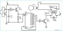Circuit Diagram of #Remote_Controlled #Switch