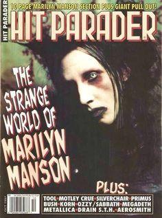 Rolling Stone Marilyn Manson 90s magazine goth metal spin rock ...
