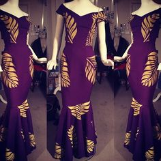 The best colour in the whole world is the one that looks good on you PURPLE Dress Design Patterns, New Dress Pattern, African Print Fashion, African Fashion Dresses, Fashion Outfits, Island Outfit, Island Wear, Island Wedding Dresses, Samoan Dress
