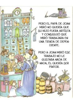 La pequeña historia de joan miro Joan Miro, Art For Kids, Comics, Children's Books, Kid Art, Historia, Kids Education, Preschool Education, Visual Arts