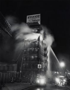 Weegee,  Simply Add Boiling Water, 1937.