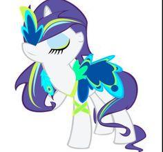 Peacock OC pony