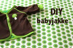 LaRaLiL: Babyjakke - DIY - gratis patroontje (50/56) met Deense uitleg!