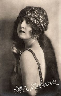 Helena Makowska  Polish actress who had a career as diva in Italian silent cinema in the 1910s (known there as Elena Makowska) and in Germany in the early 1920s