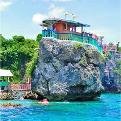 Cebu, Philippines This is literally the island across from my families property! It's so gorgeous! I miss the Philippines so much Philippines Culture, Philippines Travel, Beautiful Places To Visit, Beautiful Beaches, Places To Travel, Places To See, Thinking Day, Exotic Places, The Beach