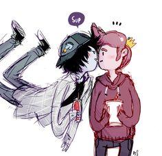 marshall lee and prince gumball   Tumblr