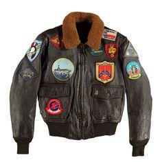 """""""Movie Heroes""""© Top Gun Navy G-1 Jacket"""