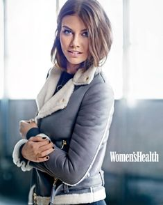 Lauren Cohan is definitely my lady crush from the Walking Dead. She's awesome.