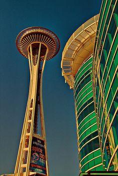 Seattle. Space Needle