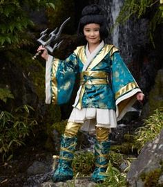 ninja girl warrior costume