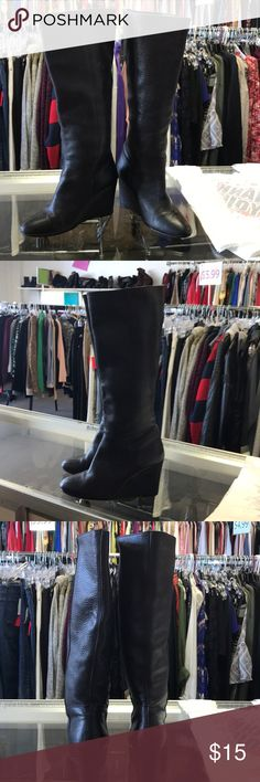 Boots, leather made in Mexico! Black boots, leather made in Mexico! Smyrna Shoes Heeled Boots