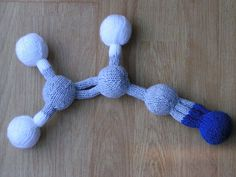 They made acrylonitrile!  I'll probably make a few other molecules instead but this is pretty clever.  Knitted molecules