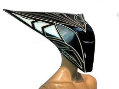 Headdress, Headpiece, Robot Costumes, Clown Mask, Drag King, Skull Mask, Cybergoth, Neck Piece, Costume Makeup