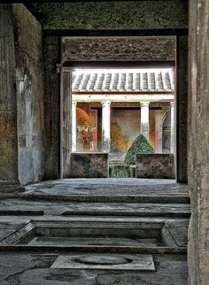Pompeii - do not plan on MORE time, live your life as though each day matters, because it does...