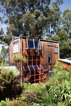 Megan Perkins home - Entre cabane et loft