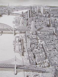River Bridges Art by Stefan Bleekrode / Netherlands