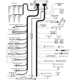 Caterpillar 3126B 3126E On-Highway Engine Wiring Diagram