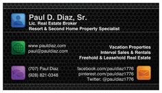 Business & Contact Card