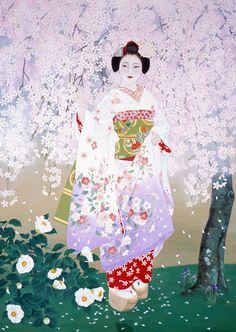 MORITA RIEKO - under the blossoms