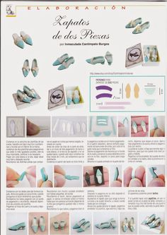 MIS RINCONES EN MINIATURA: Tutorial zapatos publicado