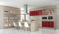 Cozinha Drummond - Projeto New móveis