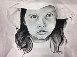 #Charcoal #drawing by Caroline, grade 12, Greenwood High School #art4literacy