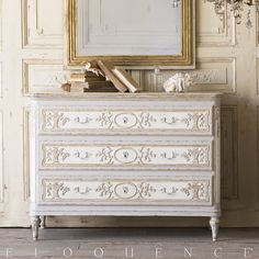 Eloquence Bronte Commode in Fleur de Lis Finish This is very nice too. Is this better than the media/dresser?