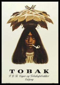 Plakat Tobakspigen