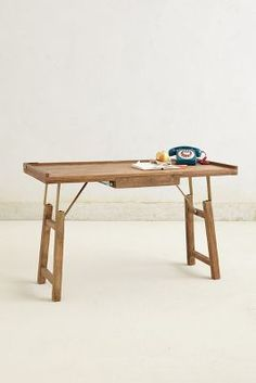 Handcarved Contractor Table #Anthropologie #PinToWin