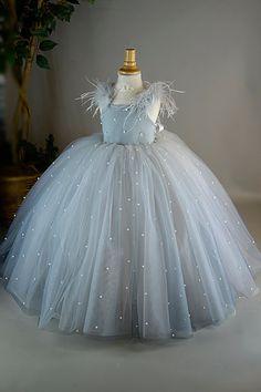 Custom Order for Tiffany African Dresses For Kids, Gowns For Girls, Little Girl Dresses, Girls Dresses, Kids Dress Wear, Kids Gown, Mom Dress, Country Style Wedding Dresses, Party Wear Frocks