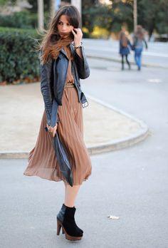 Biker+dress