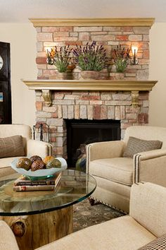 Highcourte Residence conversation seating and fireplace