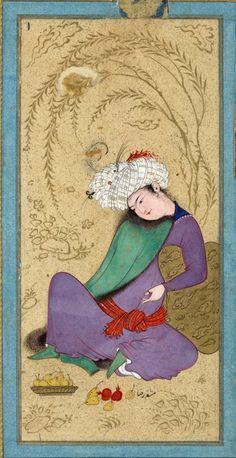 1Painting by Riza-yi `Abbasi (ca. 1565–1635)