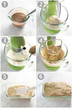 This Gluten-Free Bread Recipe has delicious flavor and texture. It's perfect for sandwiches, toast and more! Healthy Gluten Free Bread, Gluten Free Sandwich Bread Recipe, Gluten Free Sandwiches, Gluten Free Baking, Gluten Free Recipes, Bread Recipes, Cooking Recipes, Pillsbury Gluten Free, Coconut Flour Bread