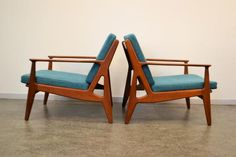 Model 6 Teak Lounge Chairs by Arne Vodder for Vamo, Set of 2 2