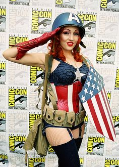 Comic Con 2012 I am sure I met and flirted with her in a different costume at the comic con