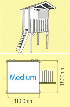 Large Cubby House Kits | Kids Cubby Houses Wooden | DIY - MyCubby
