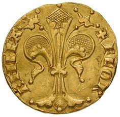 Florenz, Republik. Aldobrandino Lapi (1341). Fiorino d`oro. 1341. Ø 1,95 cm 3,51 g. Gold.