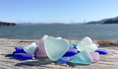 Beautiful pieces of sea glass
