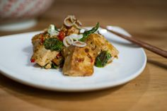 Pittige Vietnamese tofu | spicy Vietnamese tofu (vegetarian) | dau hu xa ot