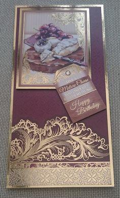 Handmade DL Greeting Card  Birthday by BavsCrafts on Etsy