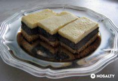 Mákos - tejfölös kocka