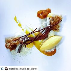 "#Repost @sofalisa_loves_to_bake with @repostapp. One of two plated desserts for my master class in Russia!! Chocolate Gianduja passion Fruit coconut and hazelnut  Абсолютно новая для меня и потому плохо изученная область-""десерт на тарелке"" или ""ресторанная подача"" с мк Шефа @bachour1234  #theartofplating #bachourstyle #bachourinrussia by bachour1234"